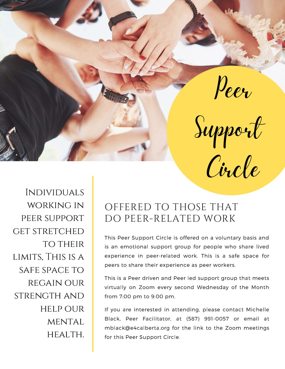 Peer Support Circle